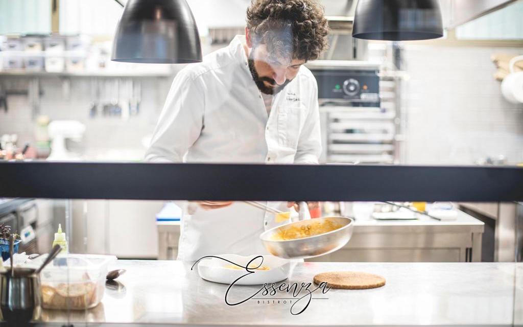 Simone Albertazzi da aspirante  avvocato a chef
