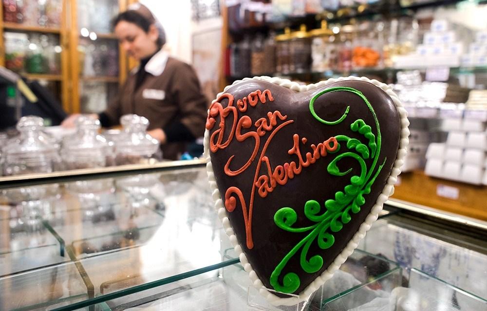 San Valentino con il cioccolato Gay-Odin