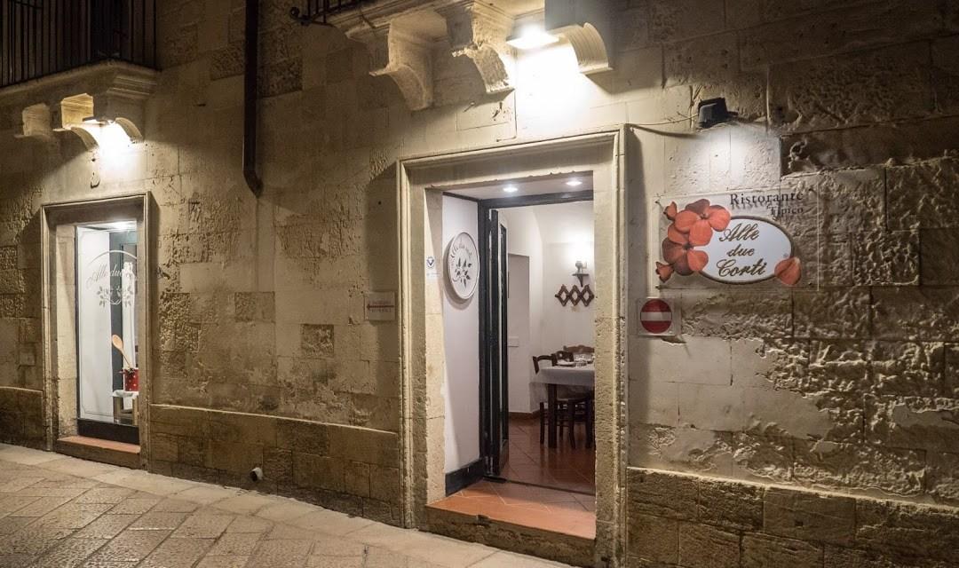 """A Lecce la migliore cucina della tradizione """"Alle due corti """""""