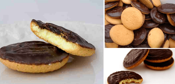 jafa cakes - μπισκότα πορτοκάλι σοκολάτα