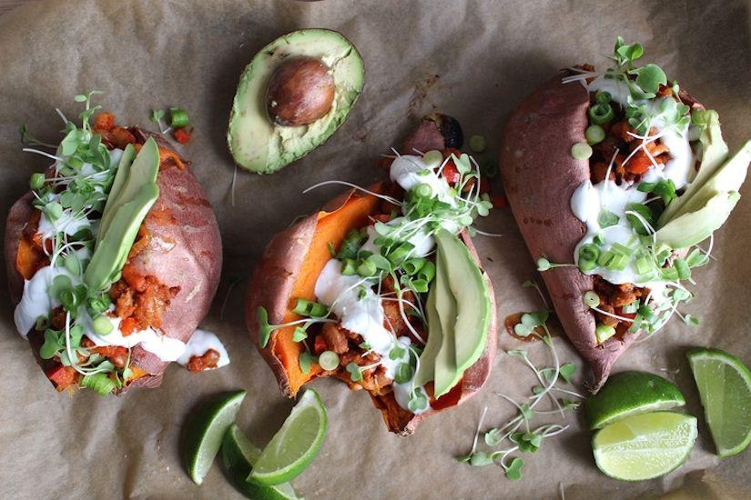 Fully Loaded Sweet Potato (Recipe)