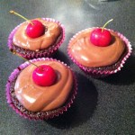 All Right My Cupcake {Recipe – Chocolate and Cherry Cupcakes}