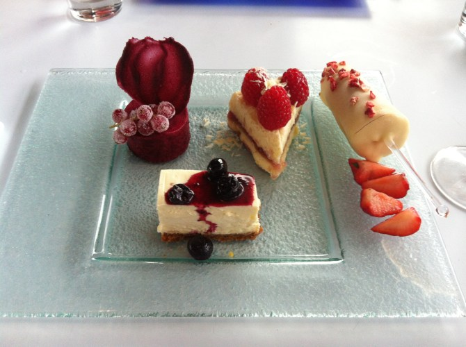 Berrylicious Afternoon Tea at Oxo Tower