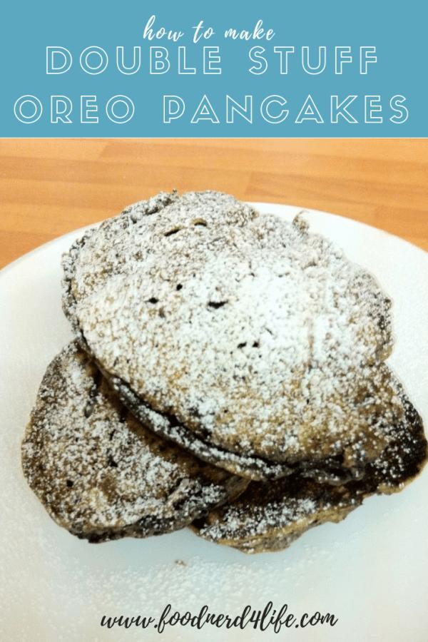 Oreo Pancakes Pin
