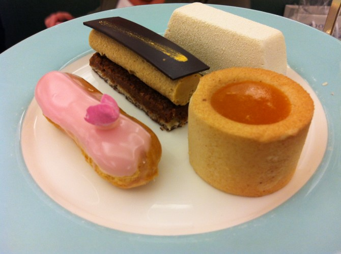 Delightful Desserts at Fortnum and Mason Afternoon Tea
