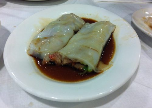Cha Cheong Fan, Mayflower Chinese Restaurant, Bristol