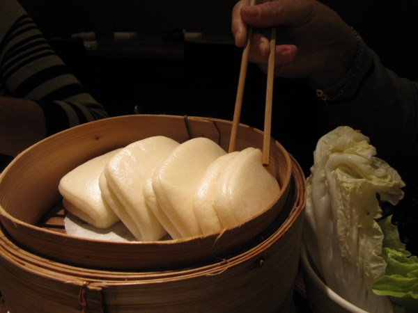 Steamed Buns at Flesh and Buns, London