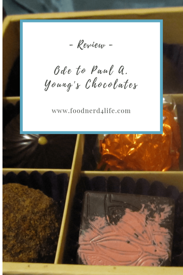 Paul A Young Chocolate Pin