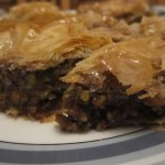 A Christmas Cake Alternative {Recipe – Pecan Pie & Maple Syrup Baklava}