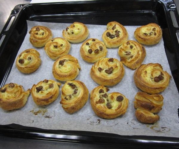 Pain au Raisin at London Cookery School