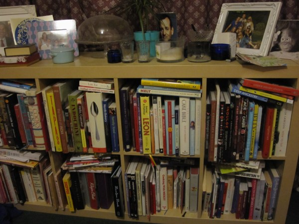 Yes that is a lot of books and yep that's a picture of Bill F-ing Murray there too.
