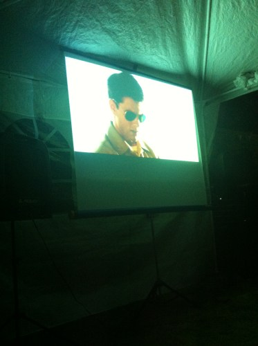 Outdoor Screening of Top Gun