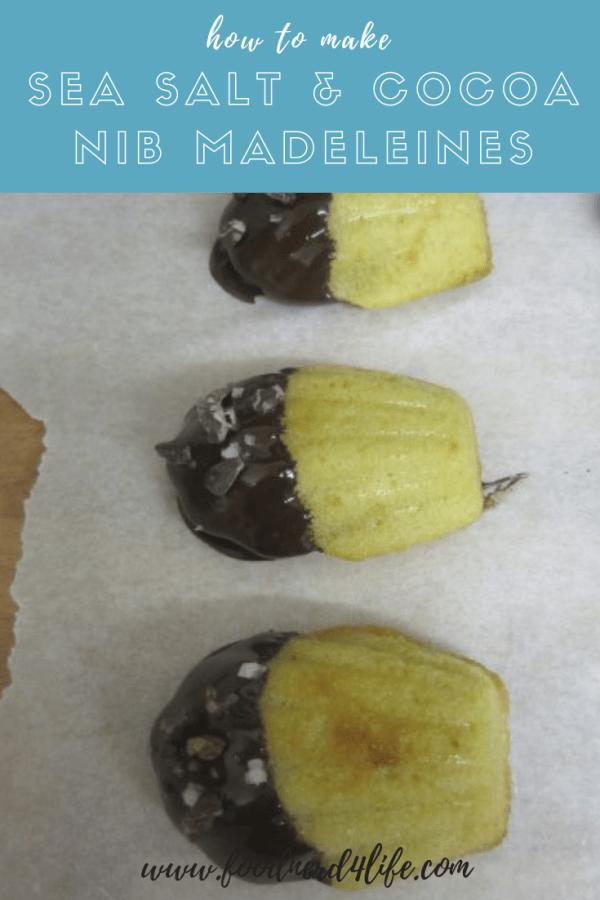 Cocoa Nib Madelines Pin