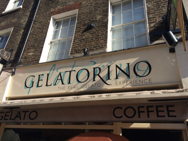 Gelatorino in Covent Garden, London