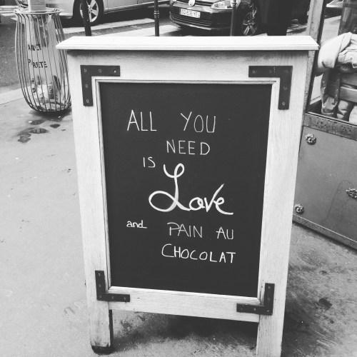 Pain au Chocolat in Paris