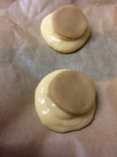 Craquelin Topping on Choux Pastry
