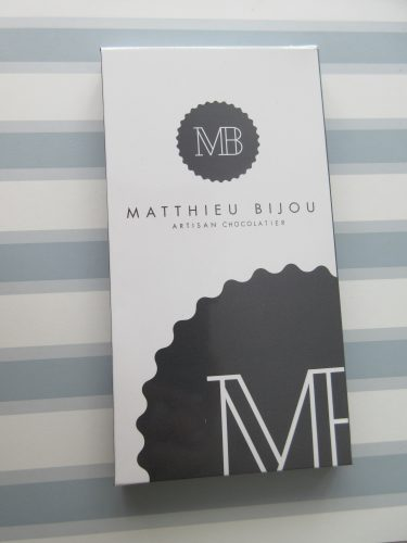 Matthieu Bijou Single Origin Chocolate Bar