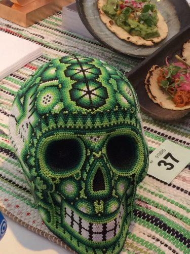 Molé Taco Bar Mexican Skull