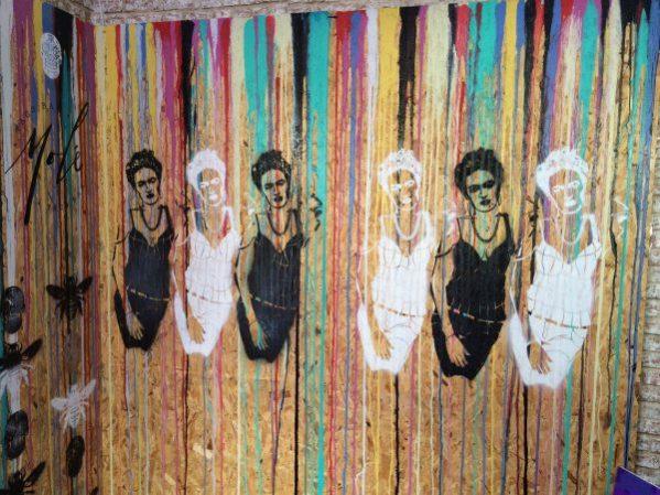 Frida Kahlo graffiti