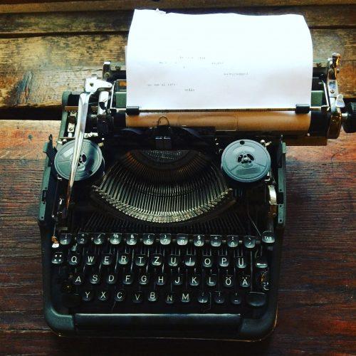 Paris Typewriter
