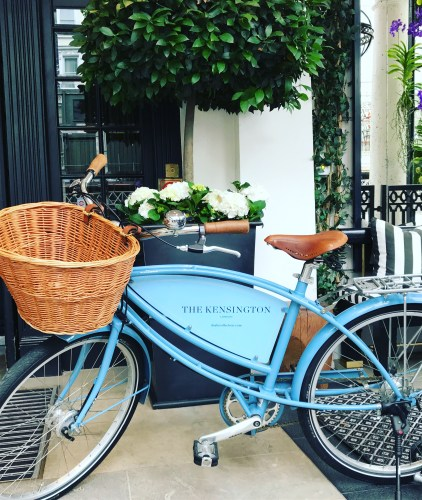 The Kensington Hotel Bike