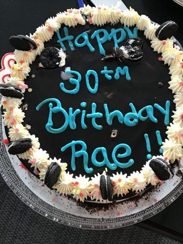 FoodNerd Birthday Cake
