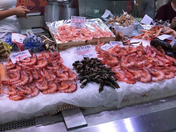 Seafood Valencia