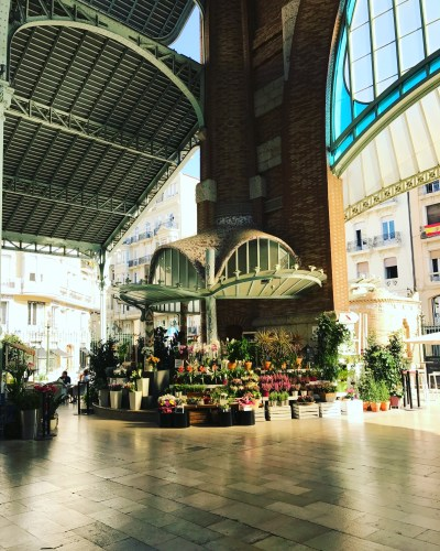 Inside Mercado Central Valencia