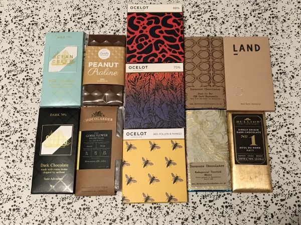 Craft Chocolate Bars