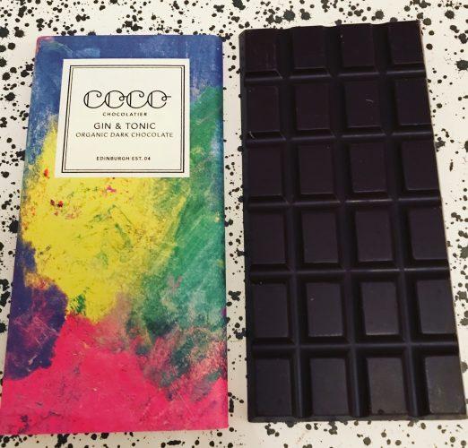 Coco Chocolatier Gin and Tonic Chocolate Bar