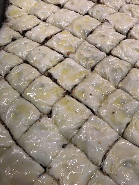 Cut Baklava