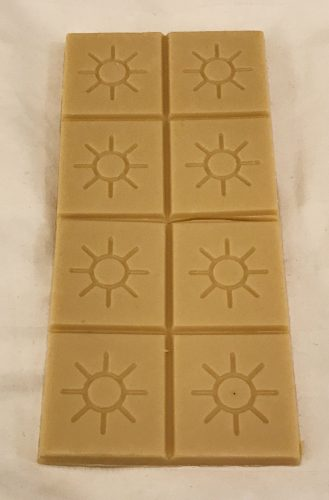 Opened Solstice Coconut White Chocolate