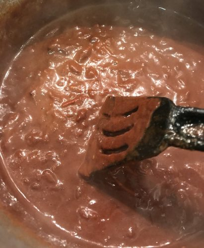 Cooking Mole Sauce for Chicken Wings