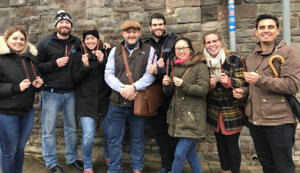 Food Tour Goers with Somerset Charcuterie