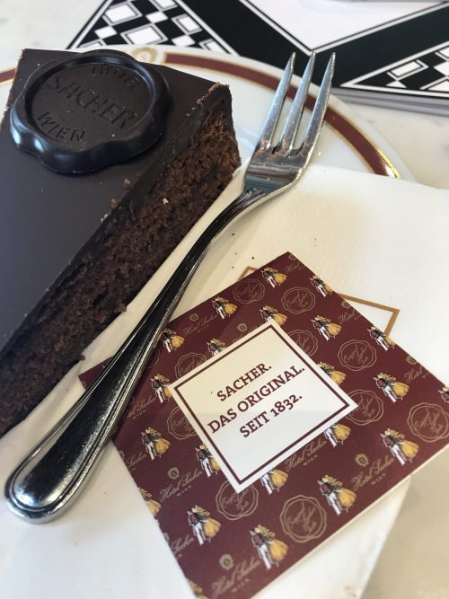 Sachertorte at Hotel Sacher, Vienna