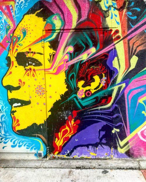 Graffiti at Vienna Naschmarkt
