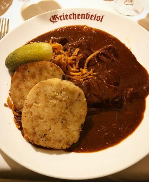 Goulash in Vienna