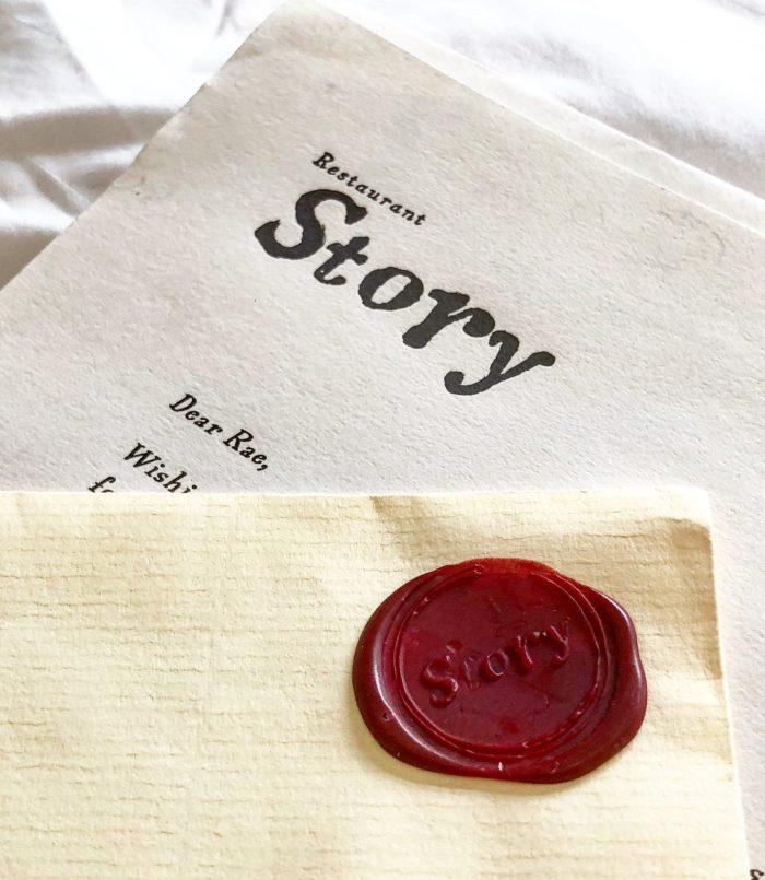 Story Restaurant Wax Seal