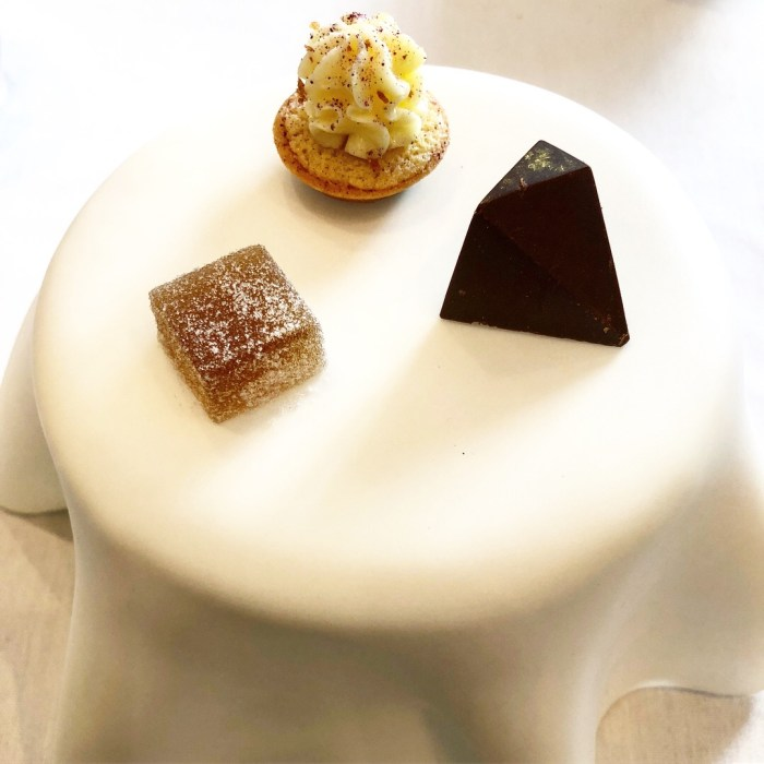 Petit Fours at Story Restaurant