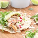 Chipotle Bacon Ranch Chicken Tacos