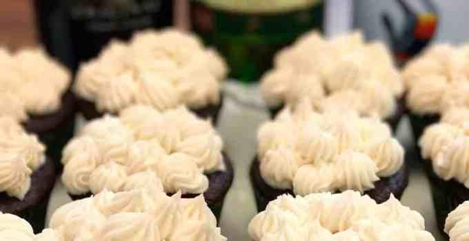 St. Paddy's Car Bomb Cupcakes