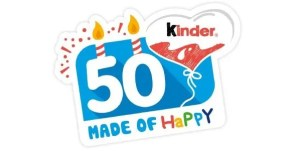 Kinder 50 Anni