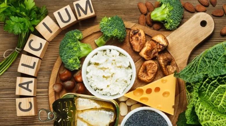 calcio vitamina latte verdure