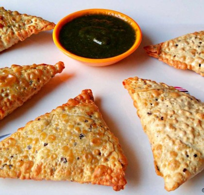 Papad Samosa Recipe. Papad ke Samose Recipe. Indian Fast Food Recipe. Quick Papad Samosa Recipe.