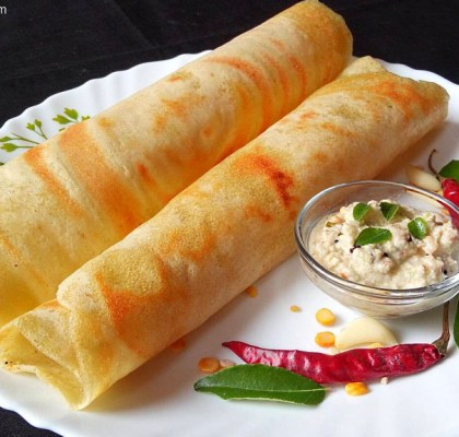 Adai Dosa Recipe, Adai Recipe, Crispy Adai Dosa Recipe, South Indian Adai Dosa Recipe, South Indian Cuisine, Breakfast Recipe, Main Course Recipe.