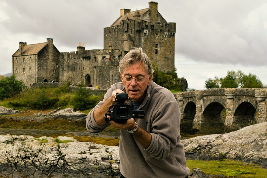 David Jackson on location in Scotland with Food Over 50