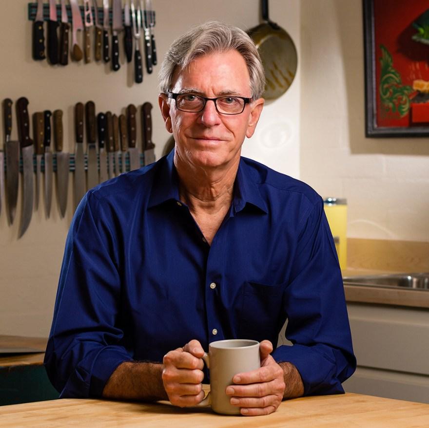 David Jackson, host of Food Over 50