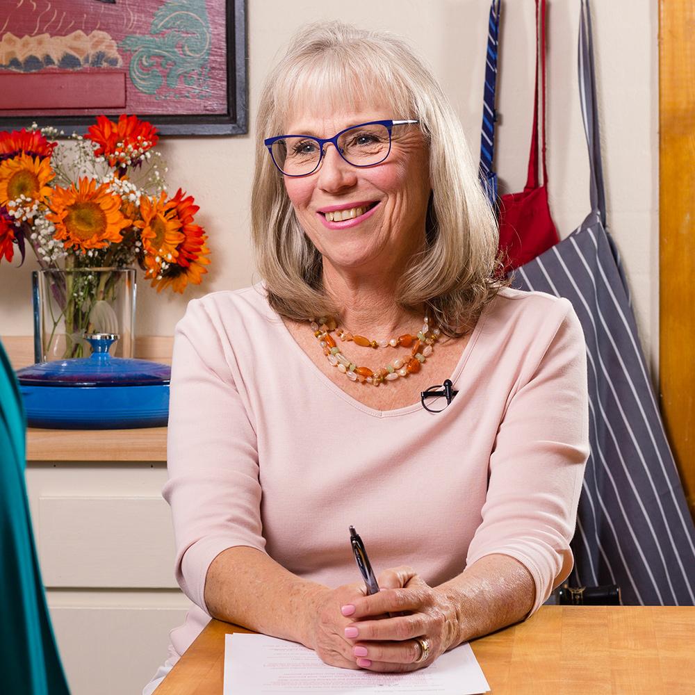 Elizabeth Kelsey, dietician for Food Over 50