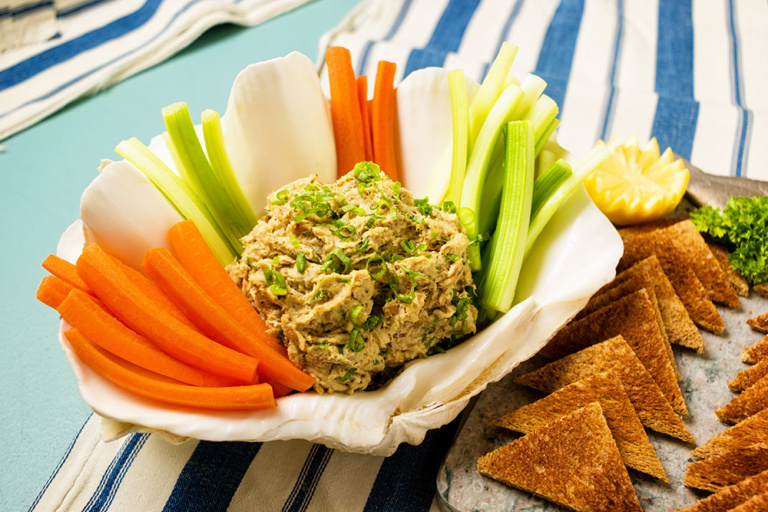 Smoked mackerel pate as prepared by David Jackson on Food Over 50