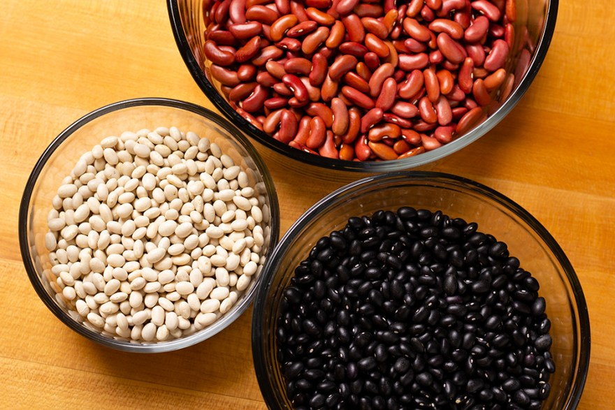 Beans are high in fiber
